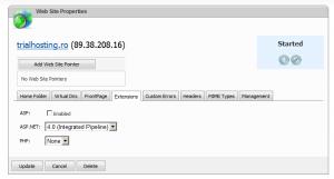 DNP Set ASP.NET 4.0 Extension