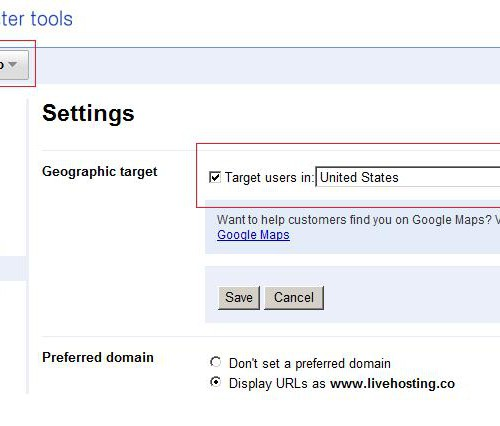 Google permite geo-targetarea domeniilor cu extensia .CO